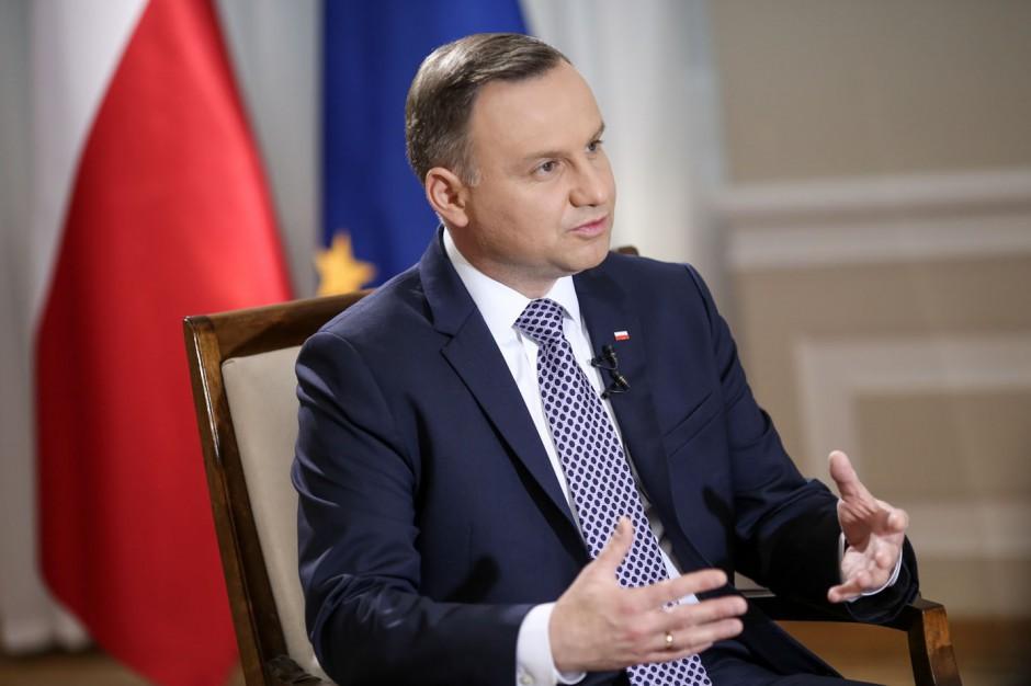 Andrzej Duda o wecie: Niektóre regulacje naruszają samodzielność samorządu