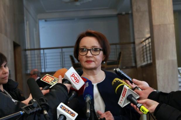 """Anna Zalewska, minister edukacji narodowej: """"Nie mam absolutnie nic wspólnego w tymi nieprawidłowościami"""""""