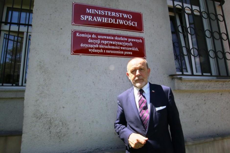 Jan Mosiński, poseł PiS: Za reprywatyzacją stoi zapewne prezydent Warszawy. Stoi cała PO