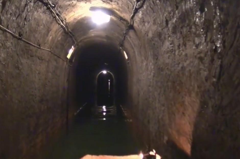 Fragment tarnogórskich podziemi z listy UNESCO czeka na remont