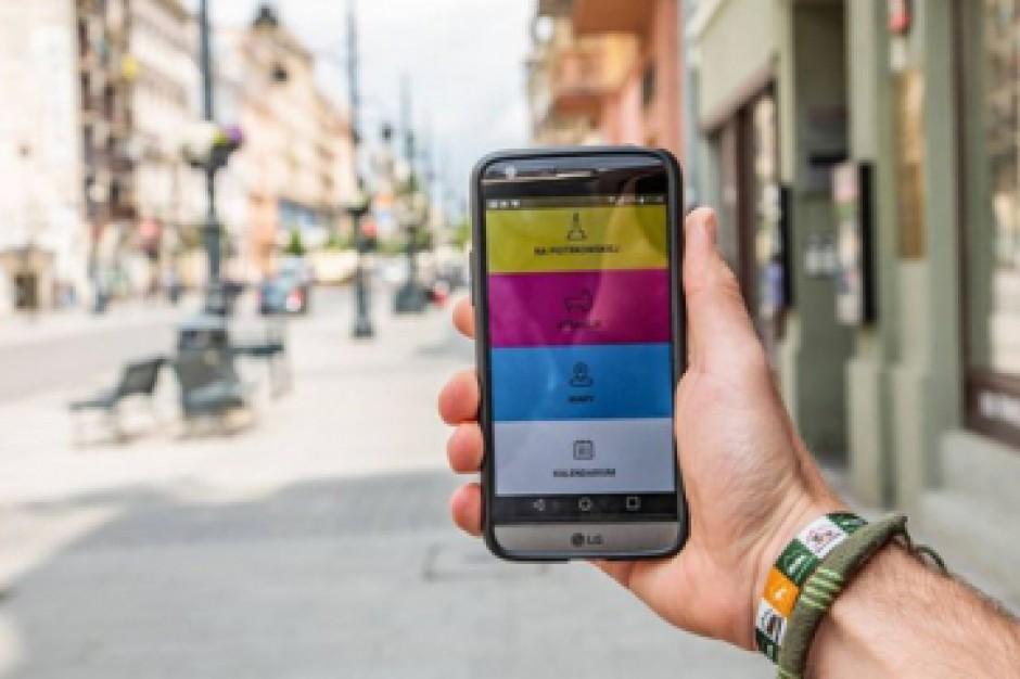 Łódź: Ulica Piotrkowska ma swoją aplikację na smartfony