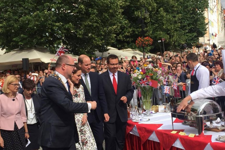 Prezydent Gdańska o spotkaniu z księciem i księżną Cambridge: Bez bieżących tematów