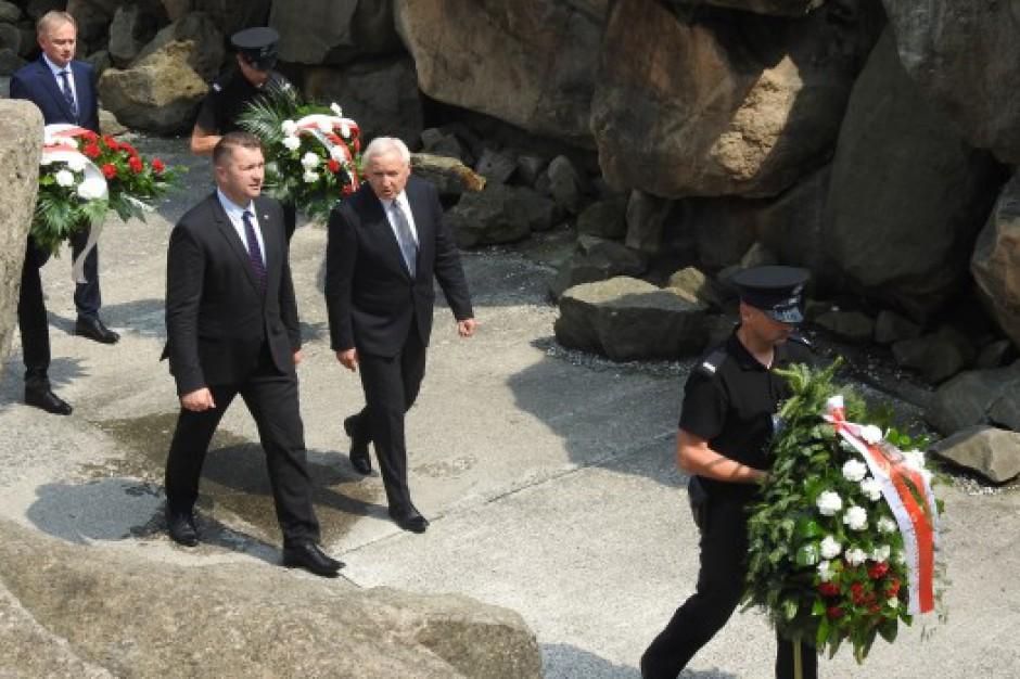 Odbyły się uroczystości upamiętniające ofiary mordu na Zamku Lubelskim