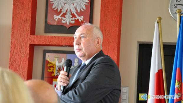 Starosta Jan Juszczak (fot.Krosnocity.pl)