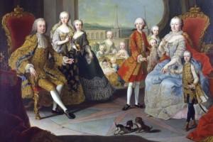 W Łańcucie można oglądać historyczne dokumenty herbowe Habsburgów