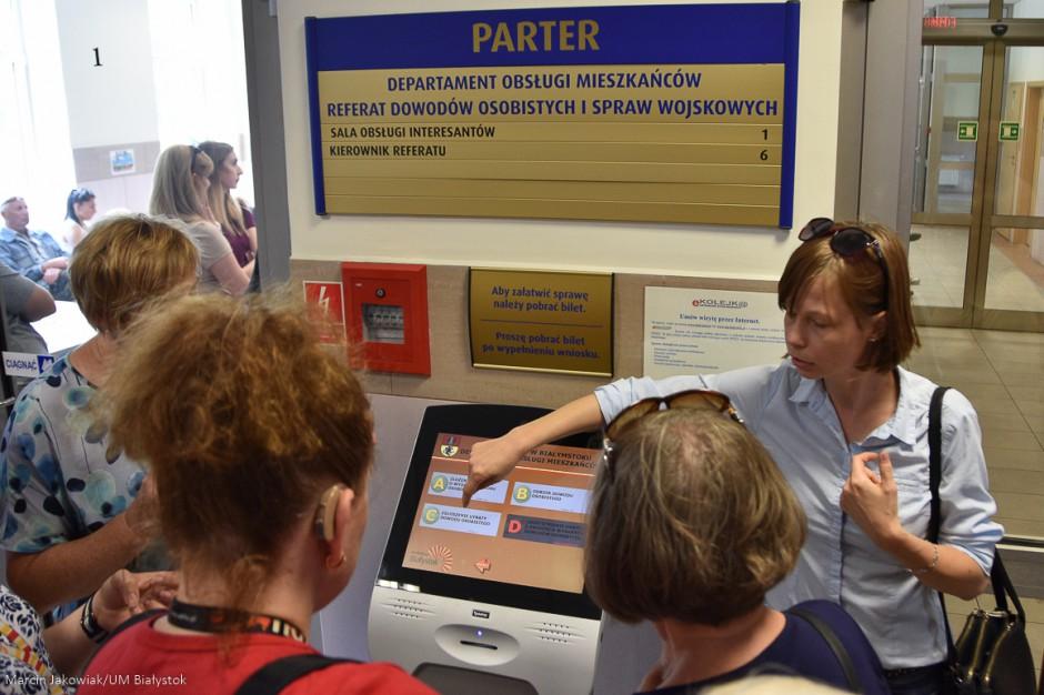 Białystok: W urzędzie wiedzą, jak obsłużyć osoby niesłyszące