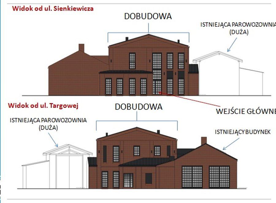 Plan przyszłego domu kultury (fot.pleszew.pl)
