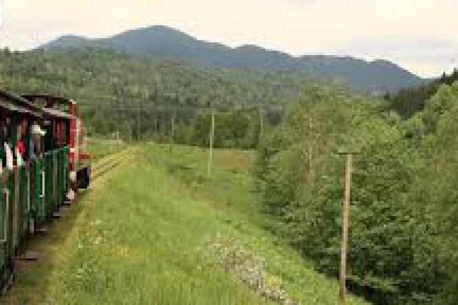 Kolejka Leśna w Bieszczadach bardziej popularna niż przed rokiem