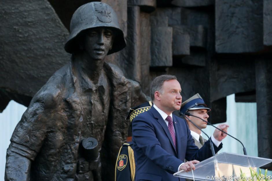 Stolica uczciła 73. rocznicę Powstania Warszawskiego