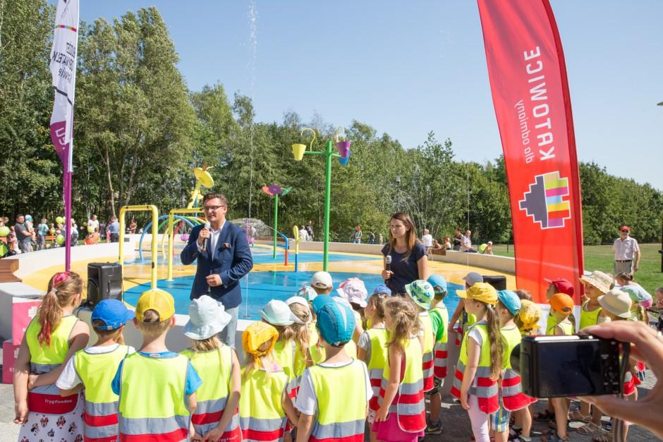 Wodny plac zabaw w Katowicach. Nowa atrakcja dla dzieci