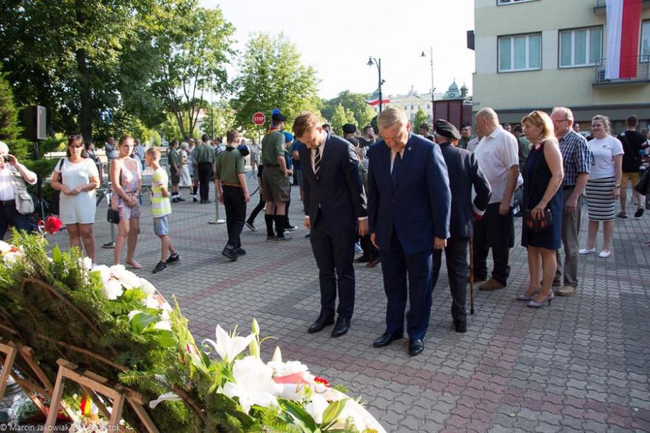 Tadeusz Truskolaski przerwał uroczystości w rocznicę wybuchu Powstania Warszawskiego