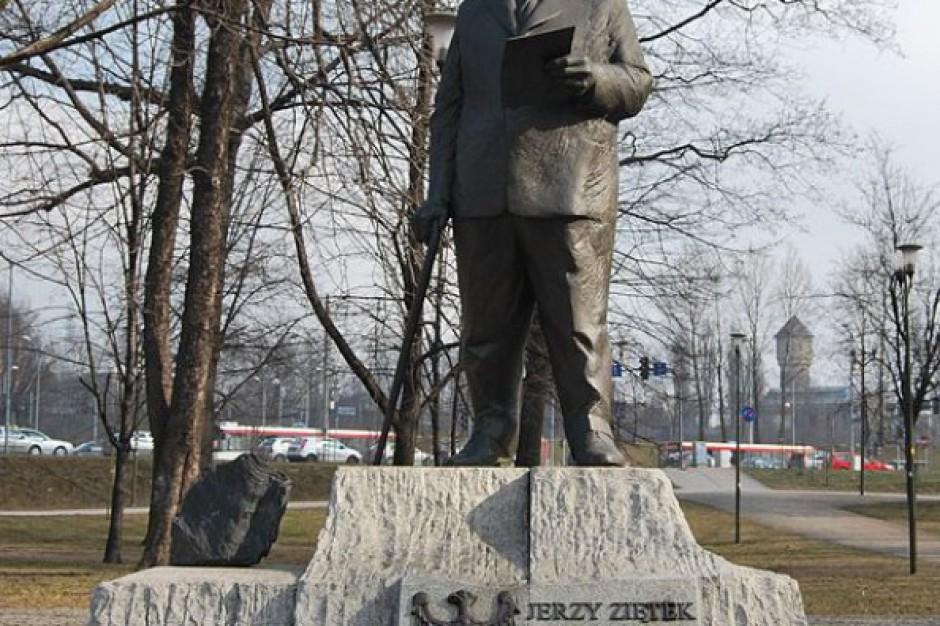 Prezydent Katowic: zamierzam bronić upamiętnienia Ziętka