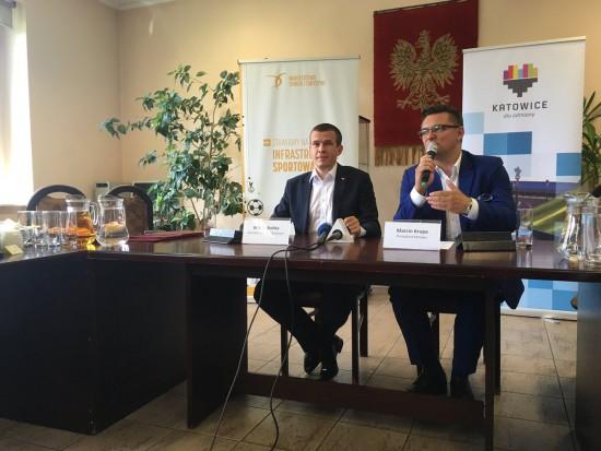 Katowice budują halę sportową przy wsparciu Ministerstwa Sportu