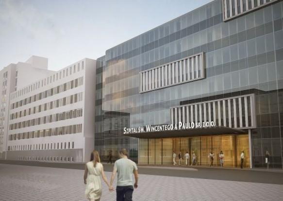 81 mln zł na rozbudowę szpitala św. Wincentego a' Paulo w Gdyni