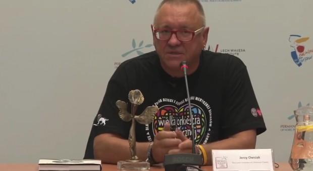 Jurek Owsiak, koordynator WOŚP, organizacji odpowiedzialnej za Przystanek, źródło: youtube.com