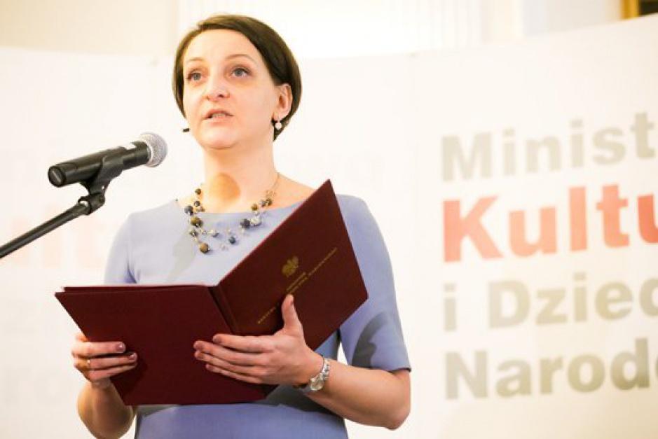 Magdalena Gawin, podsekretarz stanu w Ministerstwie Kultury i Dziedzictwa Narodowego (fot. MKiDN