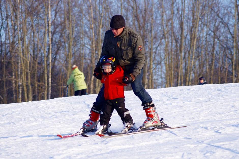 Zima w środku lata. W Szczyrku można zjeżdżać na nartach