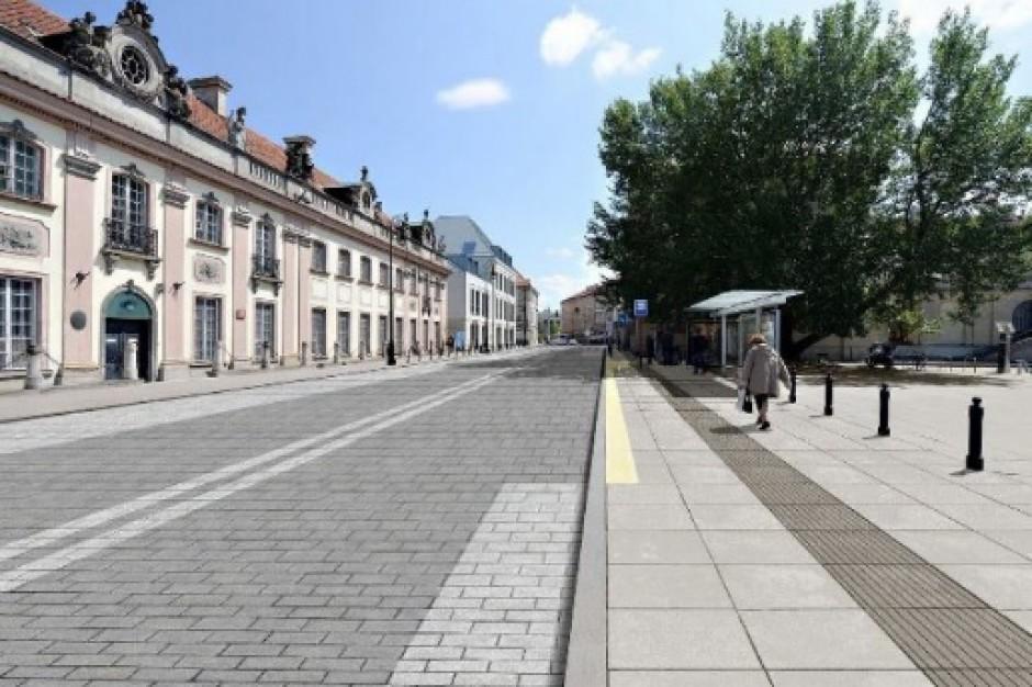 Warszawa: ulicę Miodową i plac Krasińskich czeka remont