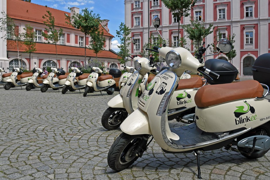 Poznań ma 15 skuterów miejskich, ale wkrótce będzie ich już 100