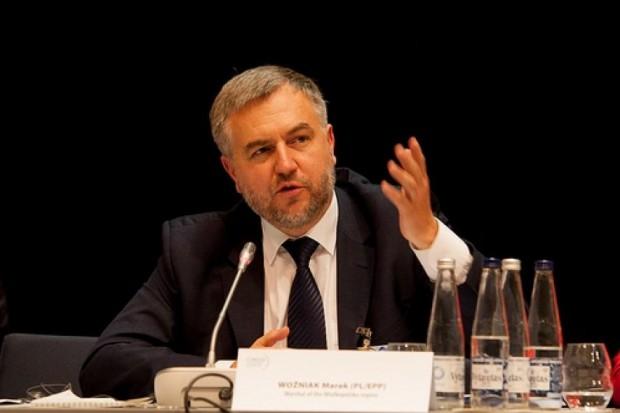 Marek Woźniak jest przewodniczącym delegacji polskiej do Europejskiego Komitetu Regionów, został także wybrany na wiceprzewodniczącego i członka Prezydium Europejskiego Komitetu Regionów (fot.umww)