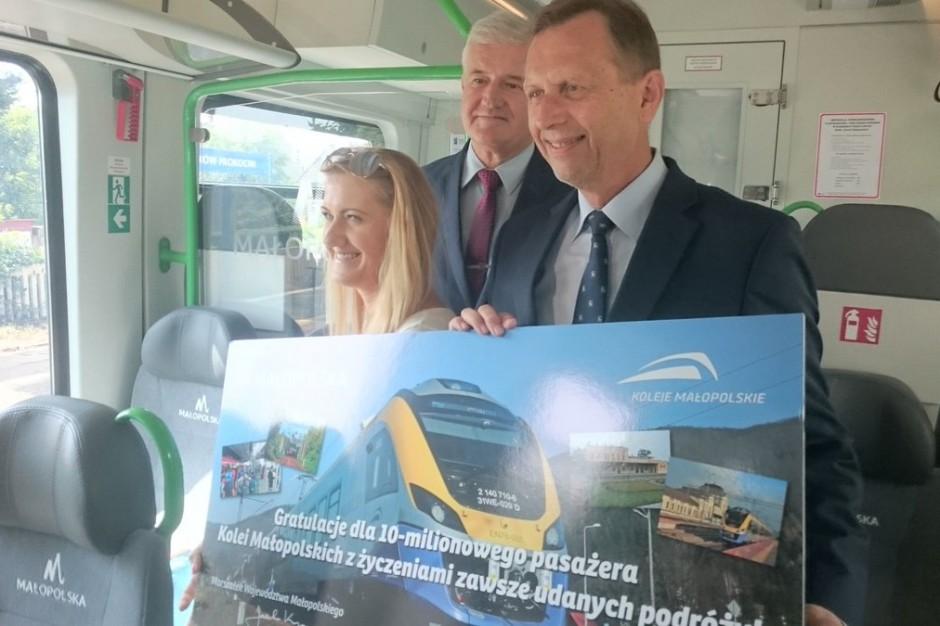 """Będą nowe połączenia kolejowe w Małopolsce. """"Nie chcemy jednak wozić powietrza"""""""