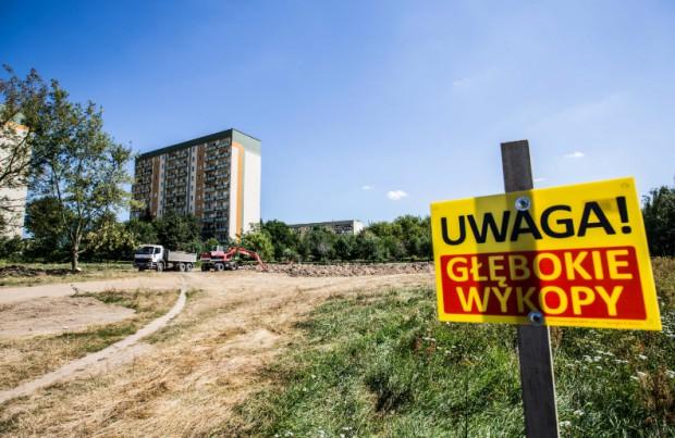 W Radomiu powstaje nowy park