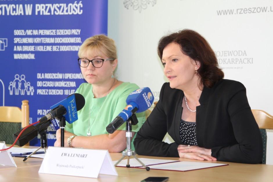 Podkarpackie: Od 1 sierpnia złożono prawie 17 tys. wniosków o świadczenie 500 plus