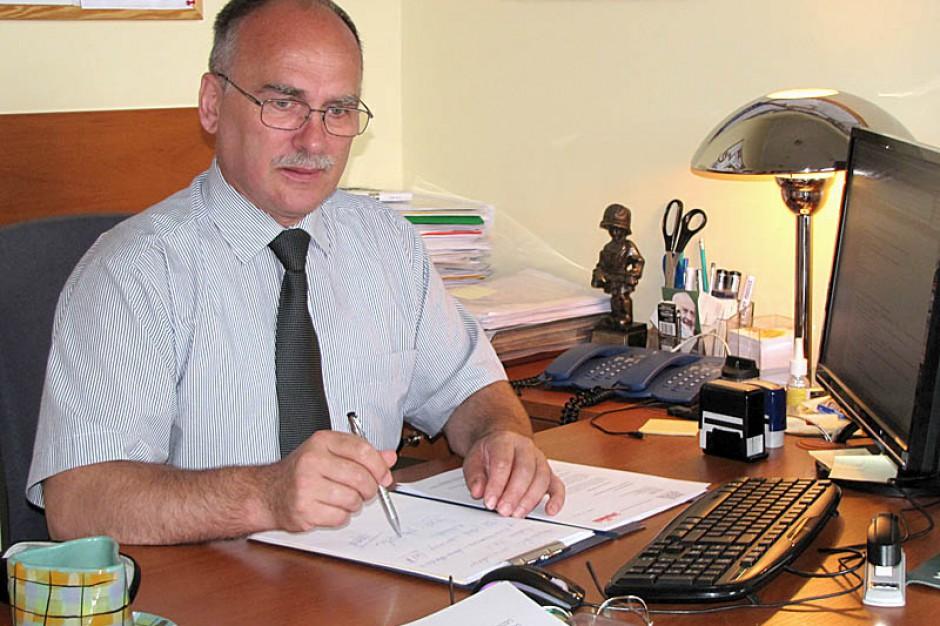 Wojciech Książek, przewodniczący Sekcji Oświaty i Wychowania Regionu Gdańskiego NSZZ
