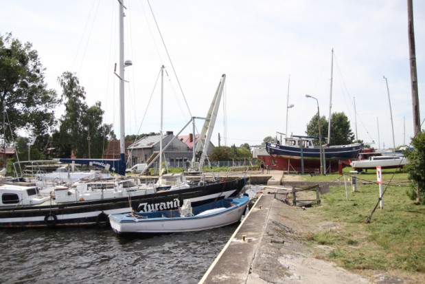 Fundacja Port Jachtowy dzięki wsparciu prawie 2,9 mln zł zmodernizuje infrastrukturę portu w Trzebieży (fot.umwz)