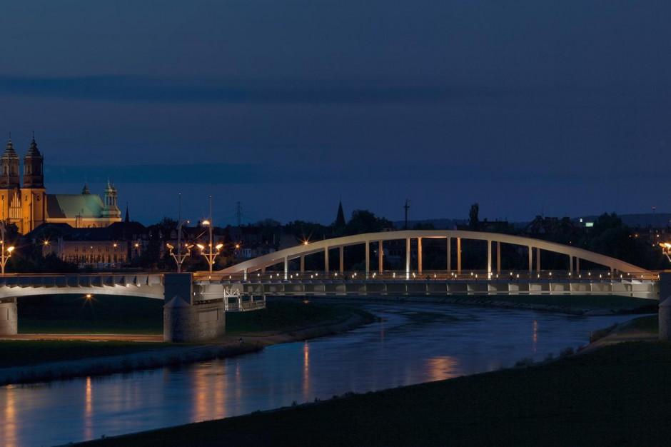 Poznań oświetli i zamontuje monitoring na zachodnim brzegu Warty