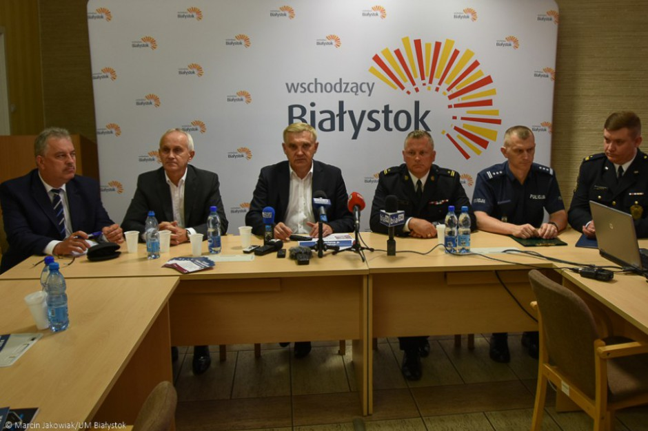 """Ćwiczenia """"Woda 2017"""" w Białymstoku. Miasto doskonali zarządzanie w sytuacjach kryzysowych"""