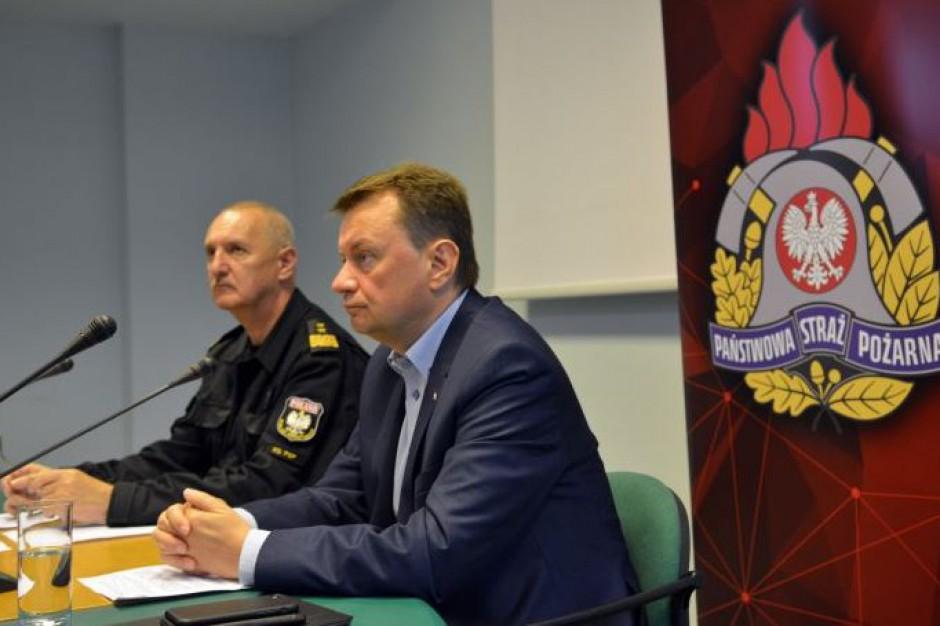 Polska po burzach: Szef MSWiA odbierze meldunki o aktualnej sytuacji po nawałnicach