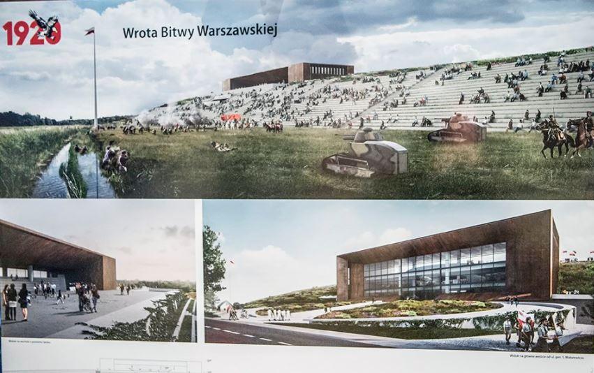 Tak ma wyglądać Muzeum Bitwy Warszawskiej, źródło: Twitter/MON