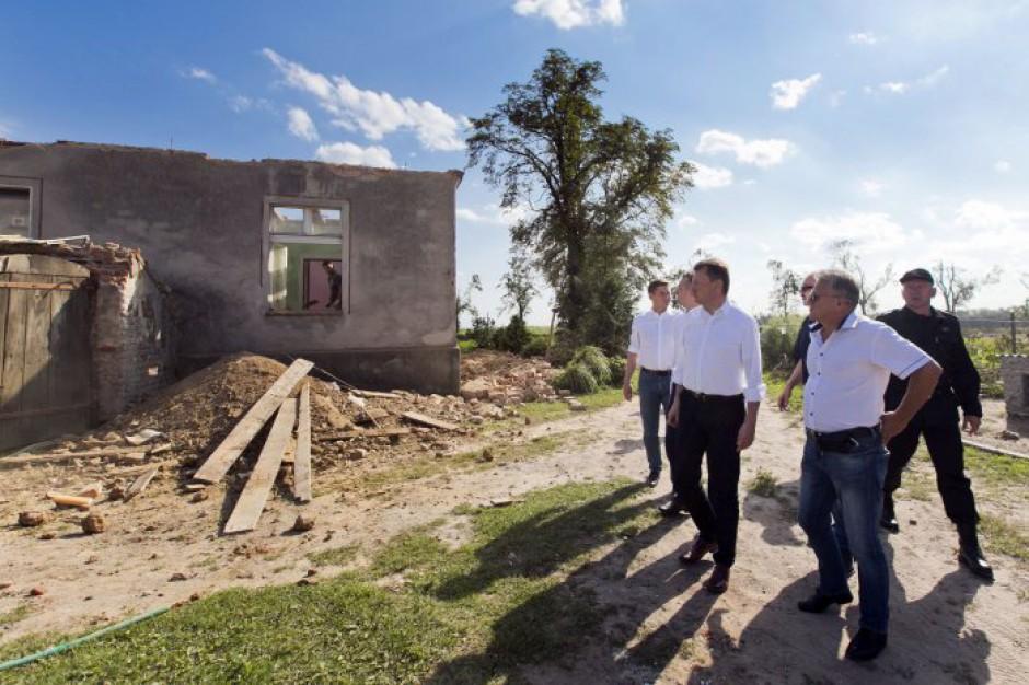 Odszkodowania: Komisje szacują straty po burzach i nawałnicach