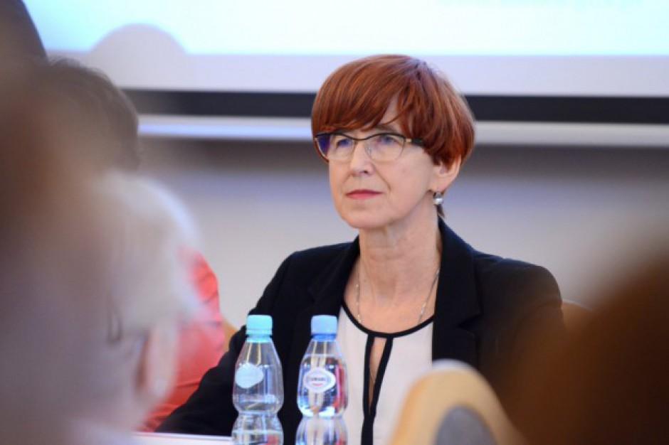 Elżbieta Rafalska, szefowa MRPiPS apeluje do gmin o pilną pomoc poszkodowanym w nawałnicach