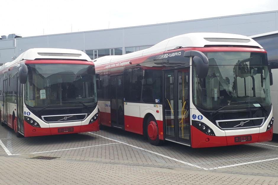 Kolejnych siedem hybryd Volvo dotarło do Sosnowca