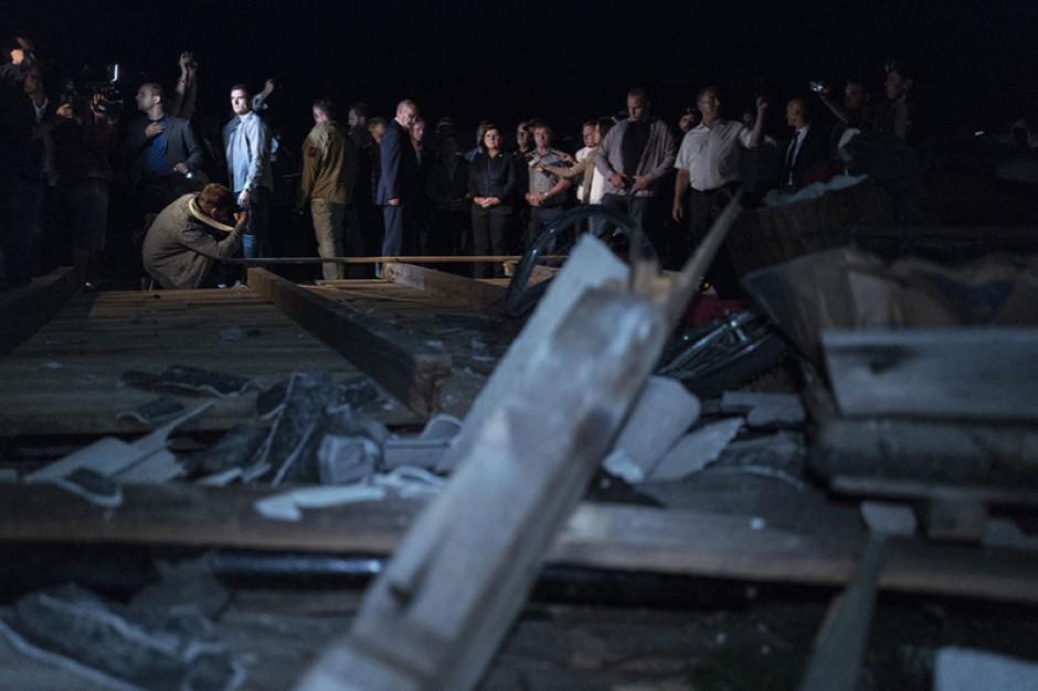 Wicestarosta chojnicki: Zniszczonych 1500 domów, ustalenie wielkości strat potrwa tygodnie
