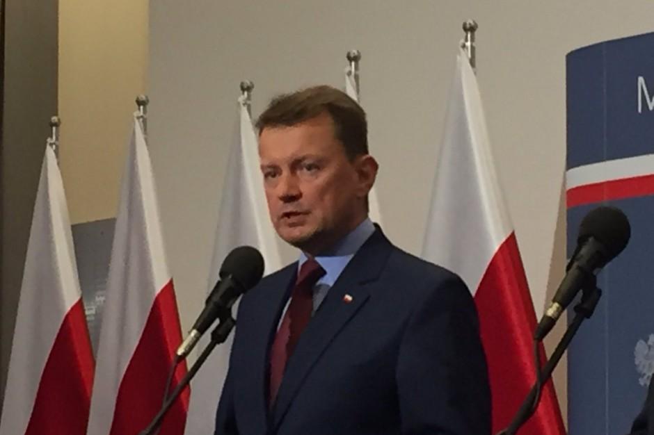 Mariusz Błaszczak ostro do wojewody pomorskiego: Powinien więcej robić, a mniej mówić