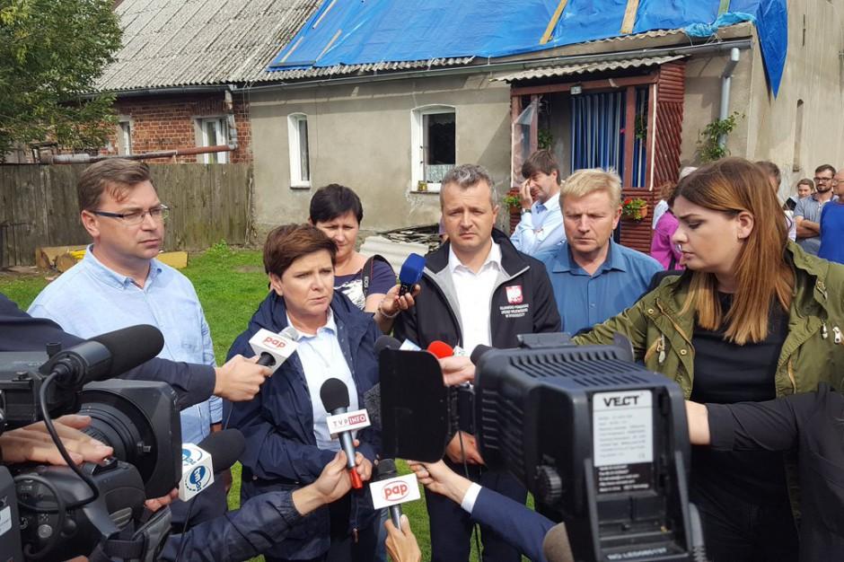 Będzie aneks do rozporządzenia dot. odbudowy domów po nawałnicach