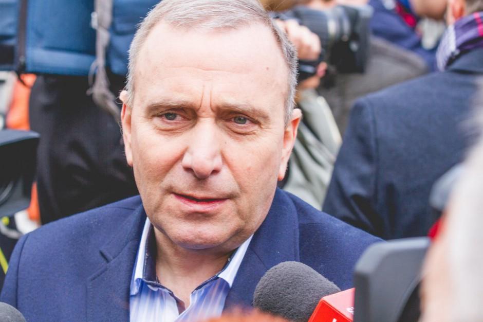 Grzegorz Schetyna o nawałnicach: W takich sytuacjach musi zostać uruchomiony system antykryzysowy