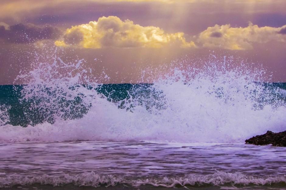 Burze i opady deszczu: Na Wybrzeżu możliwe sztormy