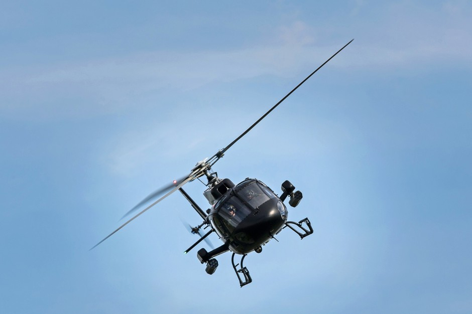 Helikopterem zamiast taksówką? Uber testuje w Polsce