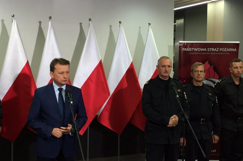Mariusz Błaszczak: Szacujemy straty, wystąpimy do Funduszu Solidarności UE