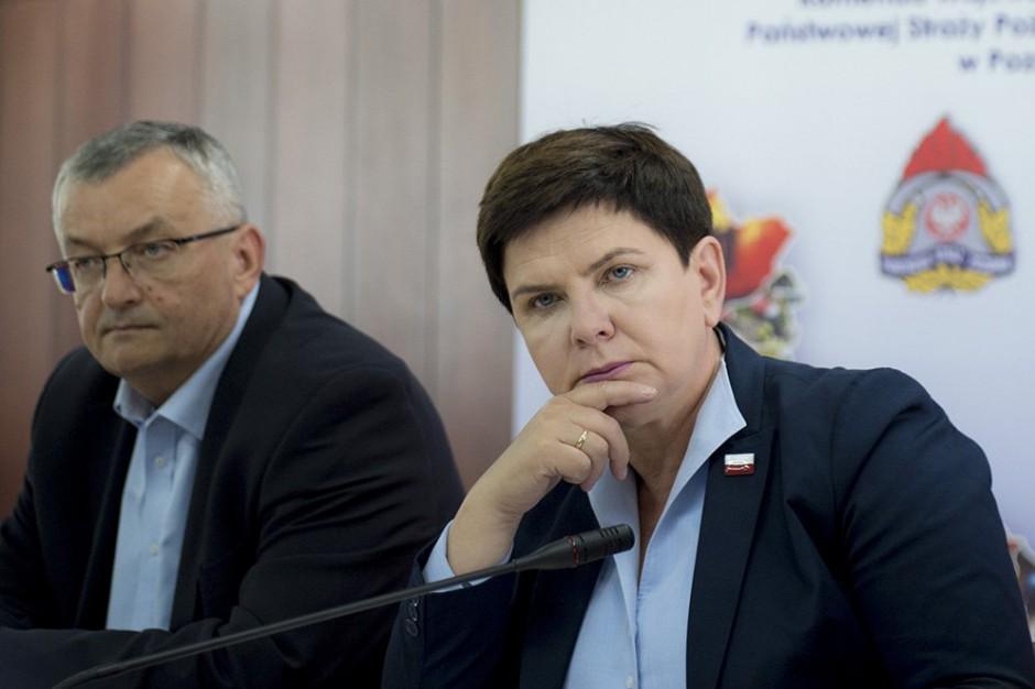 Andrzej Adamczyk: 485 budynków z zakazem użytkowania po przejściu nawałnic