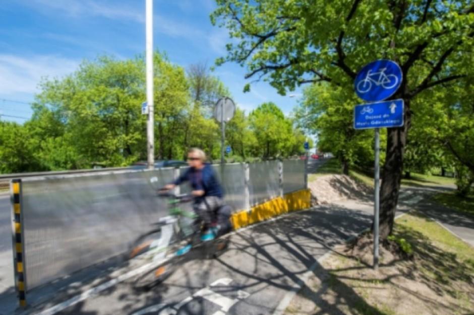 Warszawa: Stolica rozwija infrastrukturę rowerową