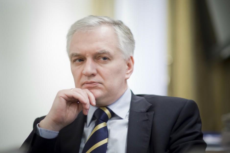 Jarosław Gowin: uczelnia o. Rydzyka nie złamała prawa odmawiając studiowania