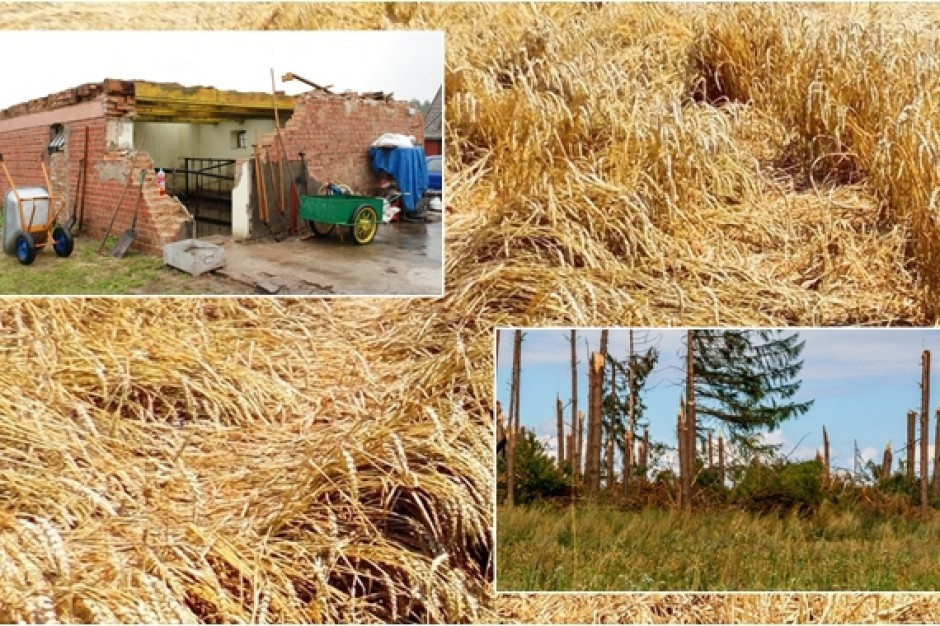 Setki milionów na pomoc po nawałnicach dla rolników