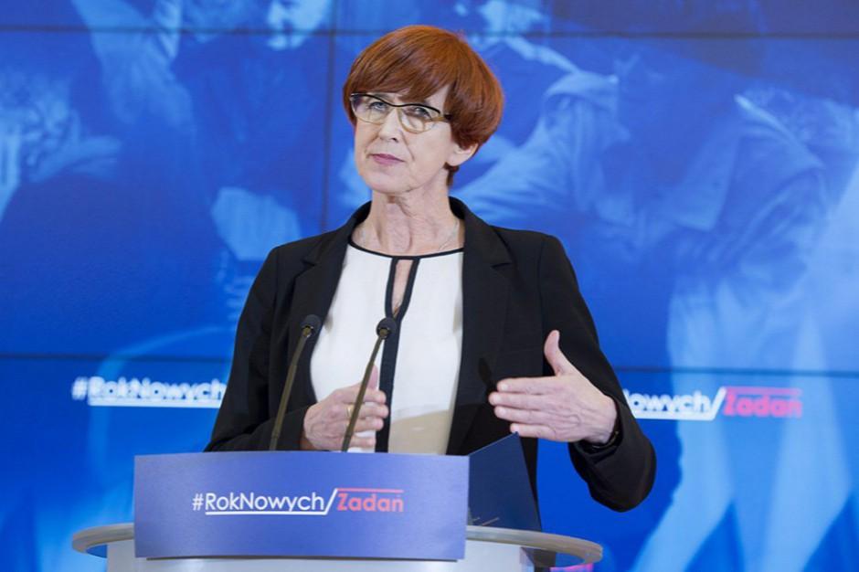 Elżbieta Rafalska o zwrotach z 500 plus: To kwestia przepisów