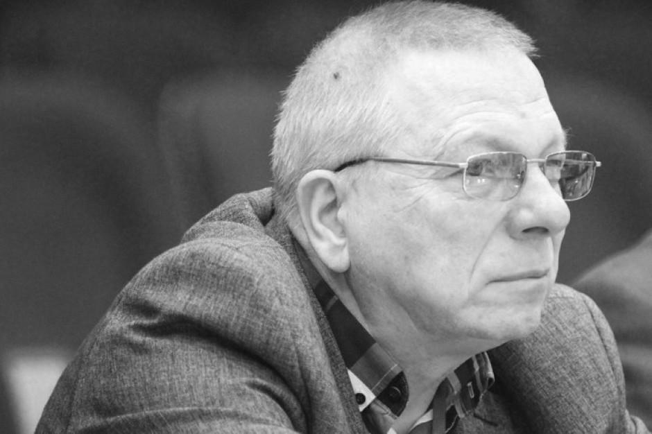 Zmarł Roman Giedrojć. Główny Inspektor Pracy i pomorski radny