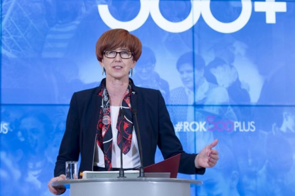 MRPiPS: złożono już 1,8 mln wniosków o świadczenie 500 plus